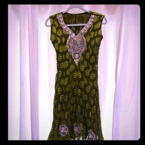 Dresses & Skirts - MAKE AN OFFER‼️Beautiful Ethnic Formal Dress S